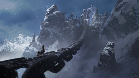 fantasy mountains sword mountain snow chains terrain range artwork background epic extreme hd wallpapers sport px music desktop geological medieval
