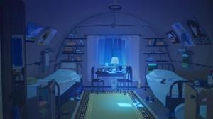 backgrounds everlasting anime bedroom wallpapers chebynkin arseniy camp interior dark artstation night cuarto scenery desktop places bed episode pantalla drawing
