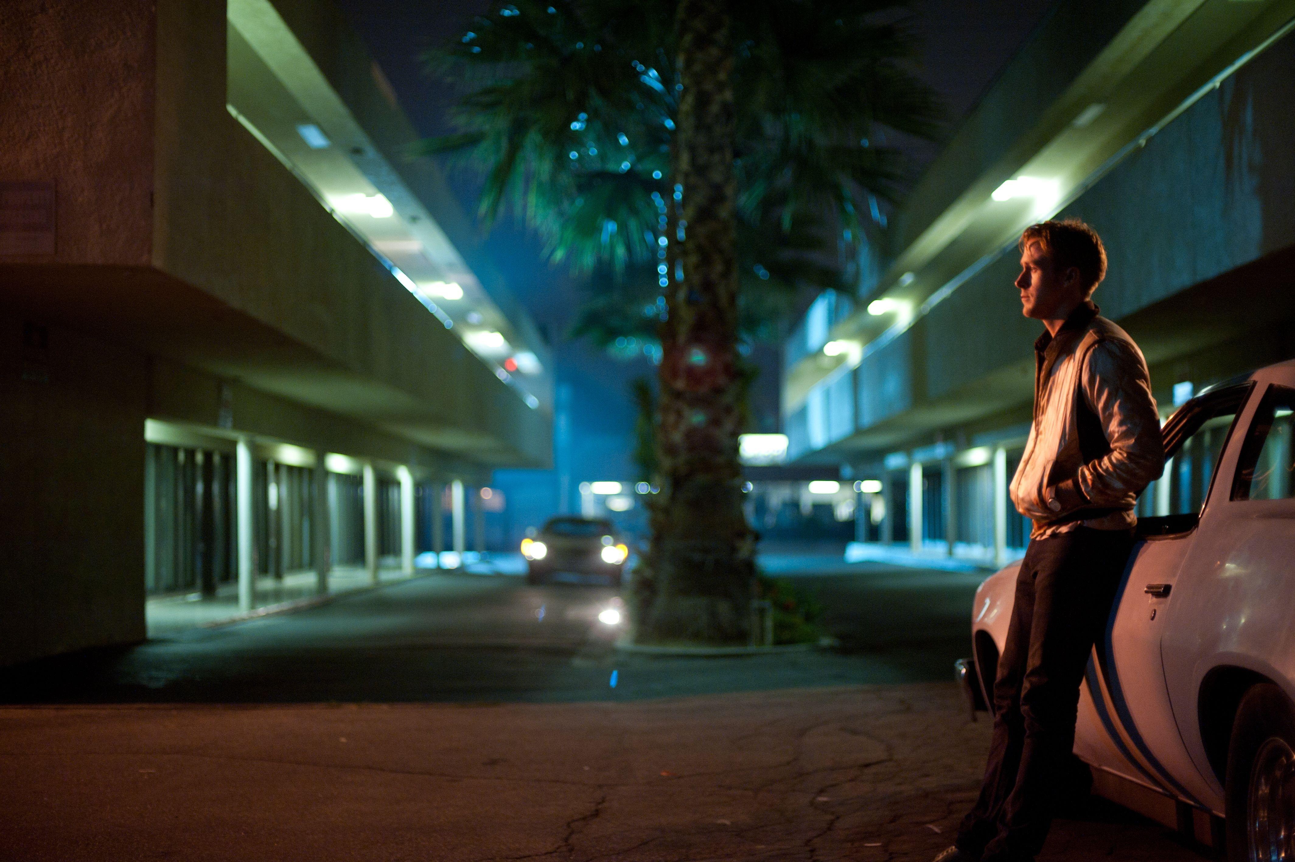 Good Evening Hd Wallpaper Wallpaper Night Movies Evening Ryan Gosling Drive