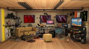 studio modern creative recreation computers interior wallpapers wallhere