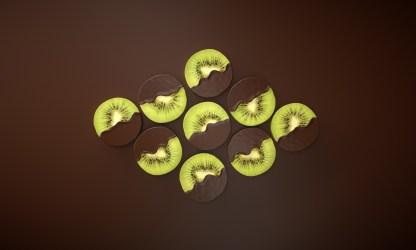 Wallpaper : simple background food artwork minimalism kiwi fruit chocolate 1920x1152 WallpaperManiac 1762577 HD Wallpapers WallHere