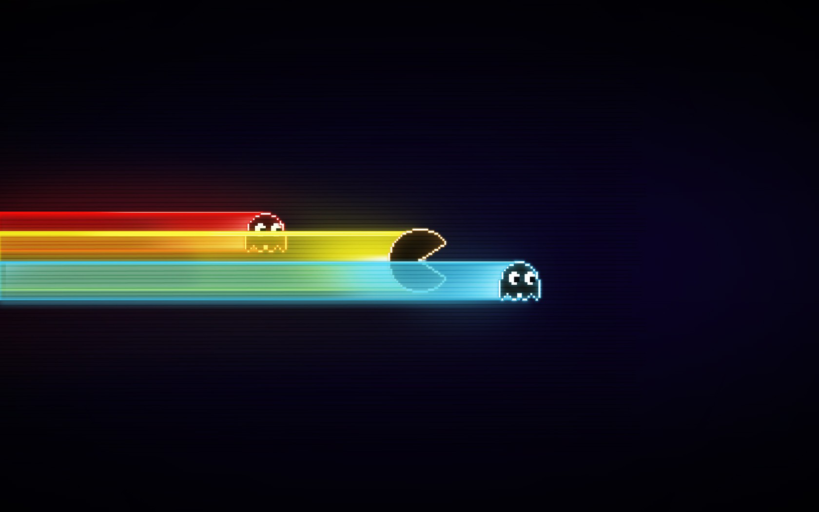 Hd Car Wallpapers Wallpaper Simple Background Night Retro Games Pacman