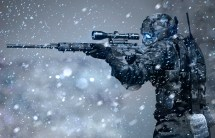 Science Fiction Sniper Rifle