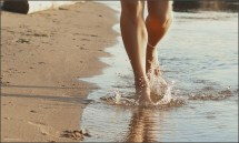Wallpaper Sport Sea Water Nature Sand Barefoot