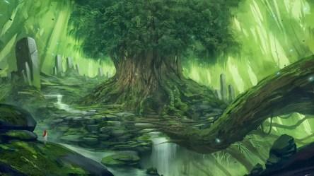 тапети : слънчева светлина фантазия изкуство аниме