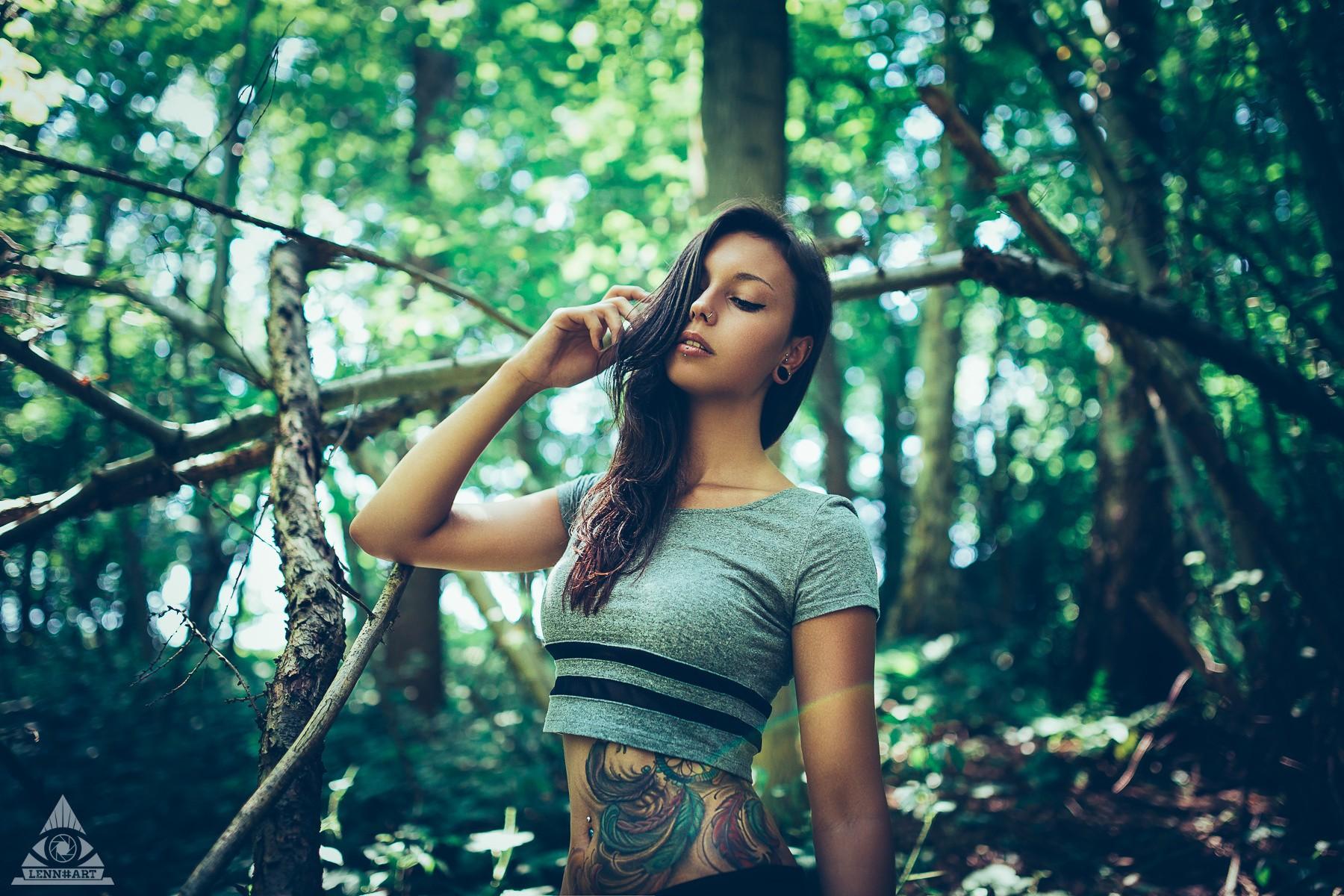 Fondos De Pantalla Luz De Sol Bosque Mujer Modelo Naturaleza