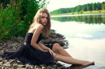Wallpaper Sunlight Women Outdoors Blonde Long Hair