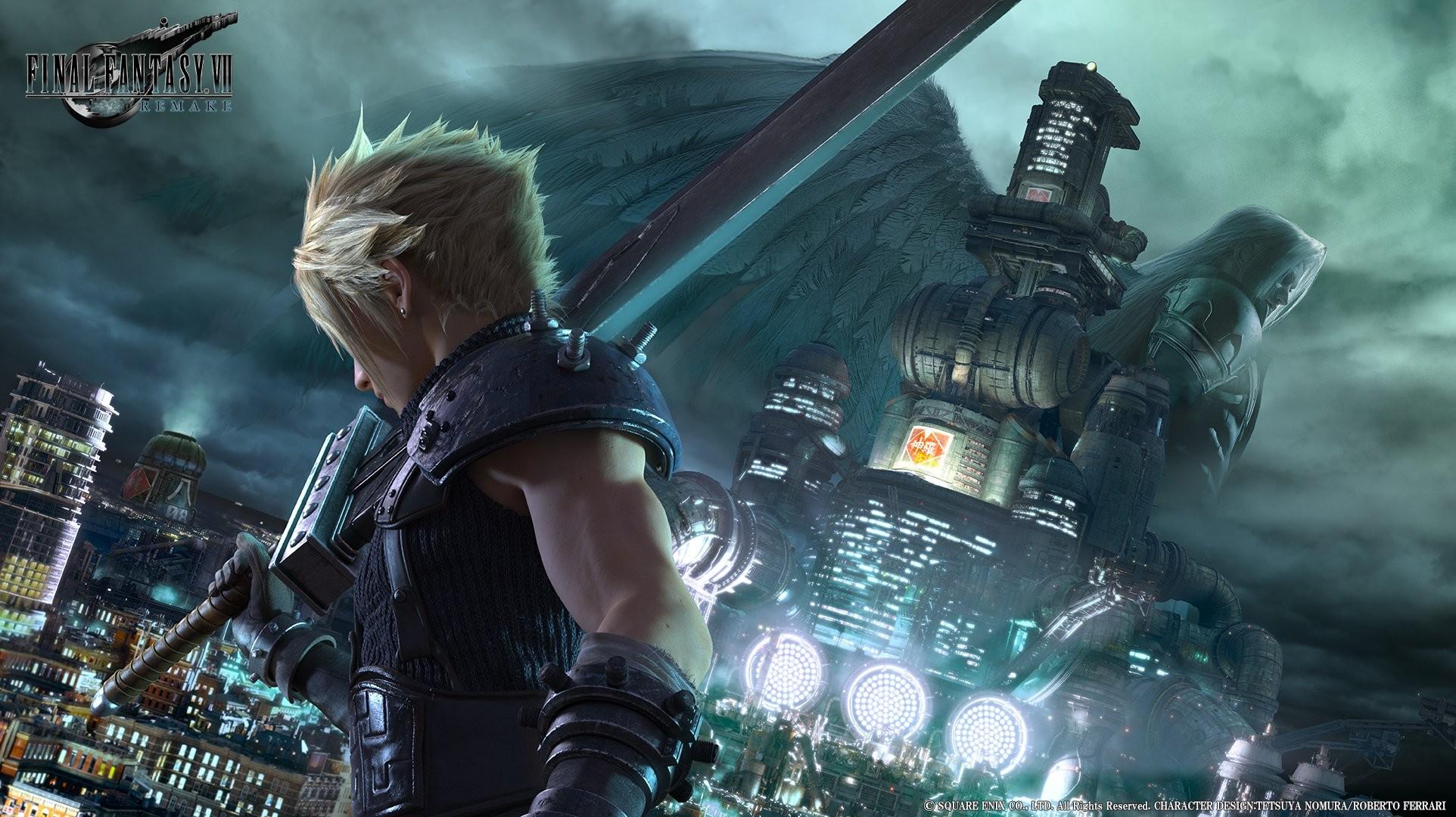 Final Fantasy Vii Wallpaper Cloud