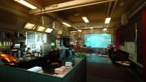 futuristic office deus ex games interior concept rays indoors screenshots human revolution backgrounds wallpapers px tourist attraction lighting vehicle screenshot