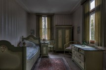 Abandoned House Interiors Bedroom