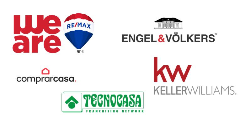 Logos de franquicias inmobiliarias