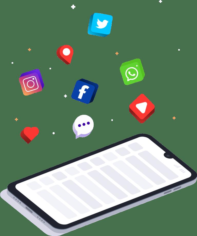 conecta tus redes sociales con las webs de witei