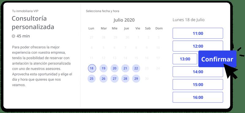 calendario de citas de witei