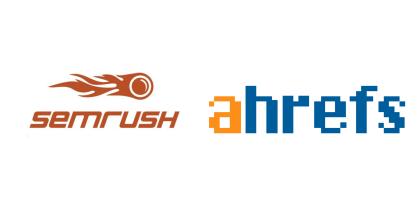 Semrush y Ahrefs son herramientas para hacer análisis de tráfico y keywords