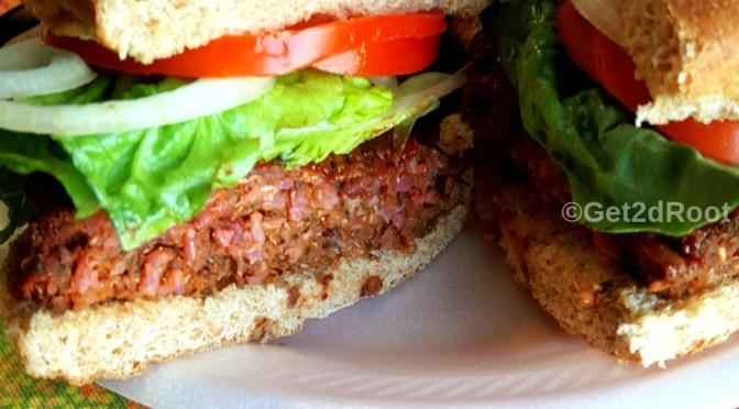 "Ultimate 1/4lb ""Beet"" Burger"