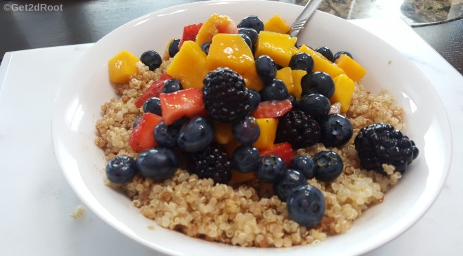 Fruity Quinoa Bowl