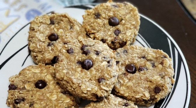 "Vanilla ""Bean"" Choc. Chip Oat Cookies"