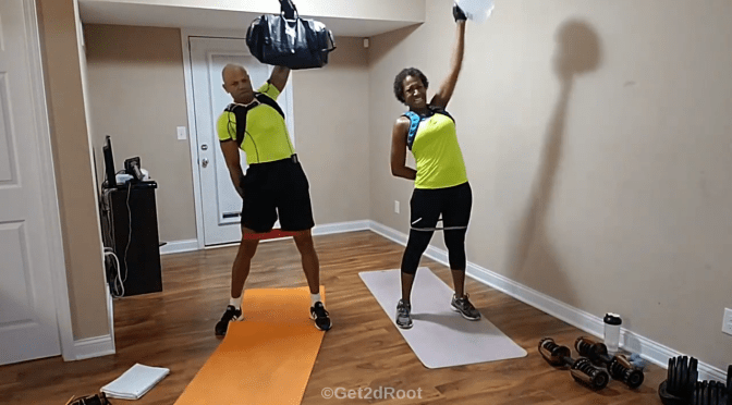 HIIT LIVE Workout Vol. 21: Sandbag Challenge