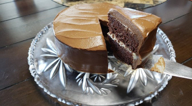 SWEET POTATO CHOCOLATE DELIGHT CAKE