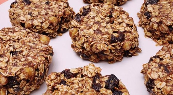 R.O.C. Cookies                    (Raisin, Oats, & Chickpeas)