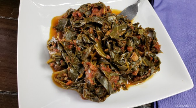 """Instant Pot"" Sweet and Savory Collards"