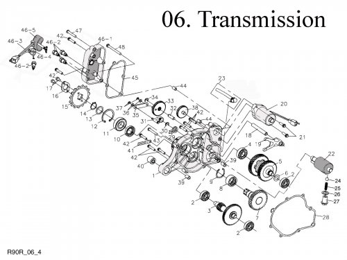 Transmission : Get 2 It Parts, LLC, ATV, Scooter, Go Kart