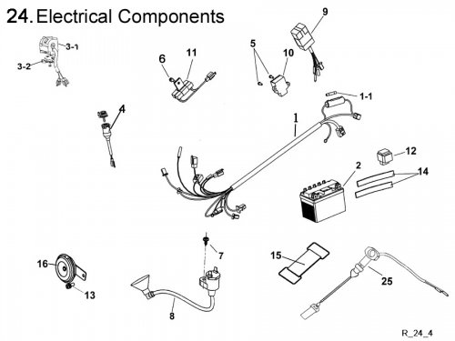 Electrical System : Get 2 It Parts, LLC, ATV, Scooter, Go