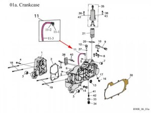 Crankcase : Get 2 It Parts, LLC, ATV, Scooter, Go Kart