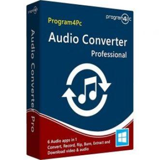 Program4Pc Audio Converter Crack