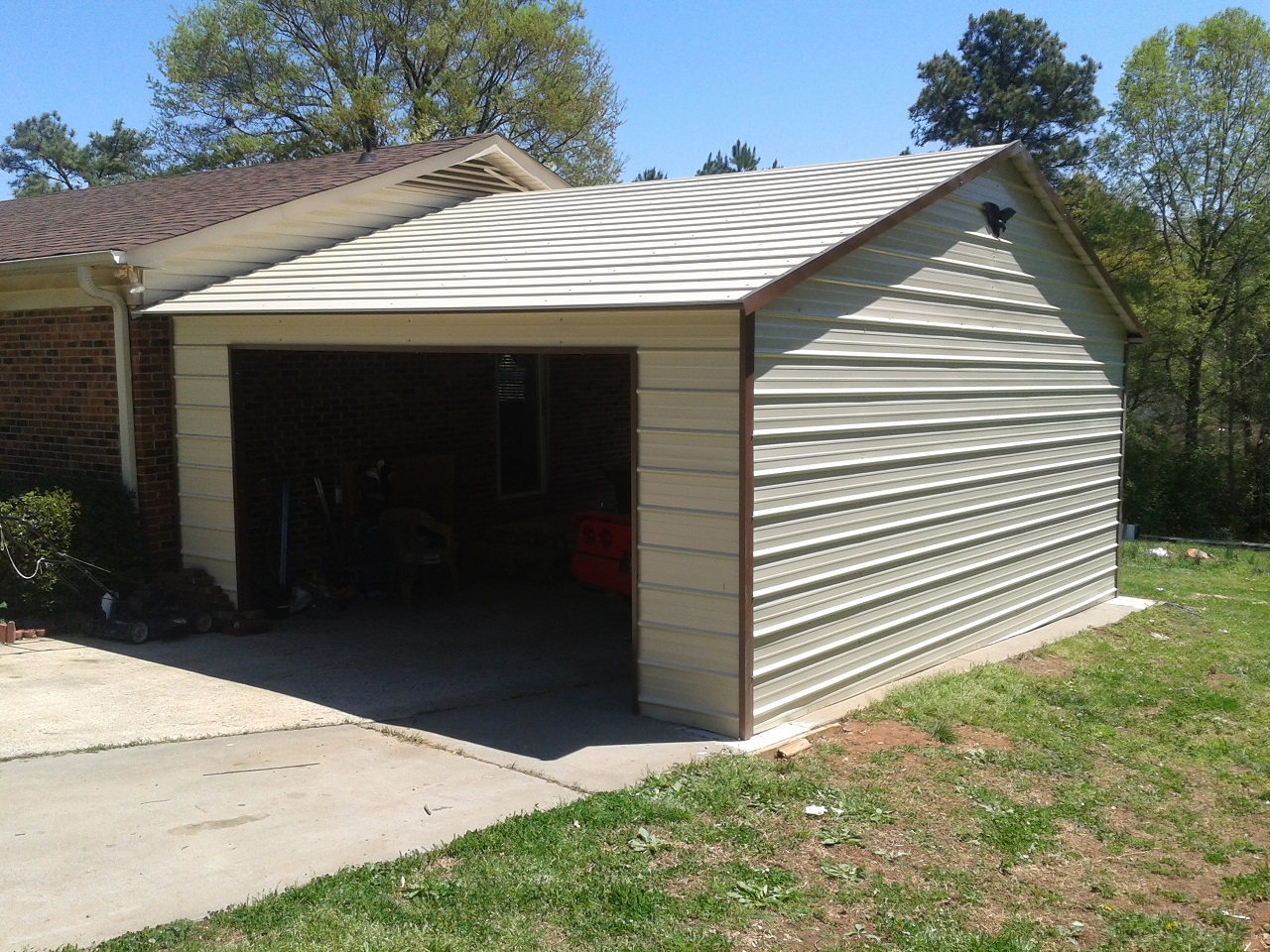 Attached Garage To House Www Getabuilding Com