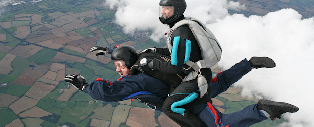 result skydive content marketing