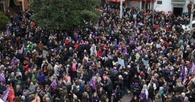 Getafe secunda la huelga feminista