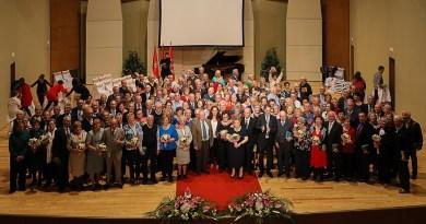 80 matrimonios celebran sus Bodas de Oro junto a la alcaldesa