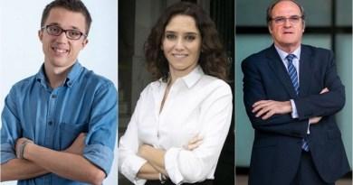 Tres nombres para liderar la Comunidad de Madrid, de momento