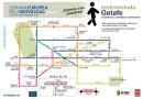 Metrominuto, un plano para fomentar los traslados a pie en la ciudad