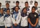 El Gimnástico Getafe recoge 9 medallas en el Campeonato de España de Trampolín