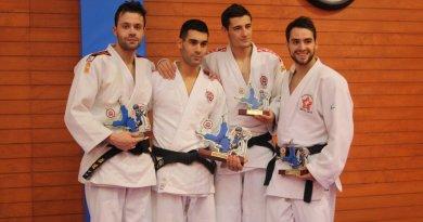 Los judokas del Gimnasio Manuel Giménez consiguen 5 oros el Torneo Open Ne Waza