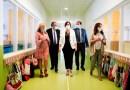La presidenta de la Comunidad de Madrid visita el colegio de El Bercial ante un comienzo de curso incierto por el covid19