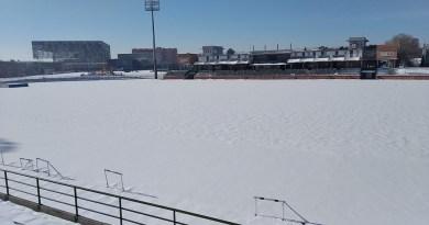 El deporte «se congela» en Getafe
