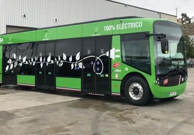 Un autobús urbano 100% eléctrico será probado sin pasajeros en la L-6
