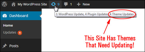 WordPress Theme Management: Updating WP Theme In Your Dashboard