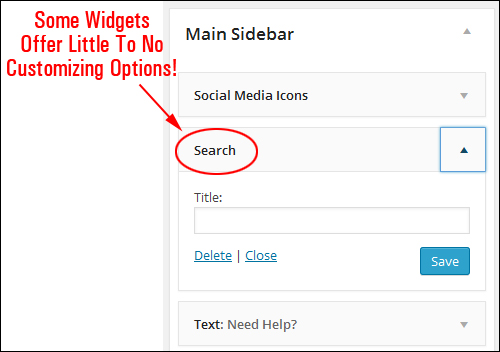About WordPress Widgets A Basic Guide To WordPress Widgets For Beginners