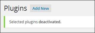 How To Update And Delete Plugins From The Dashboard