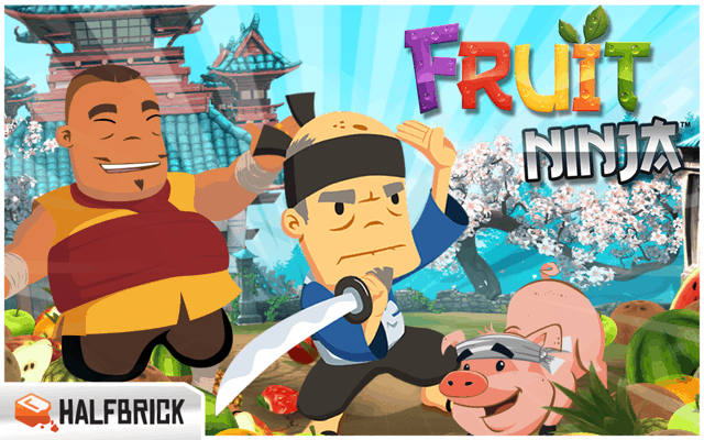Fruit Ninja Free - best android tablet game