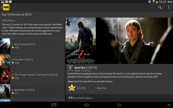 IMDb Movies & TV app for android