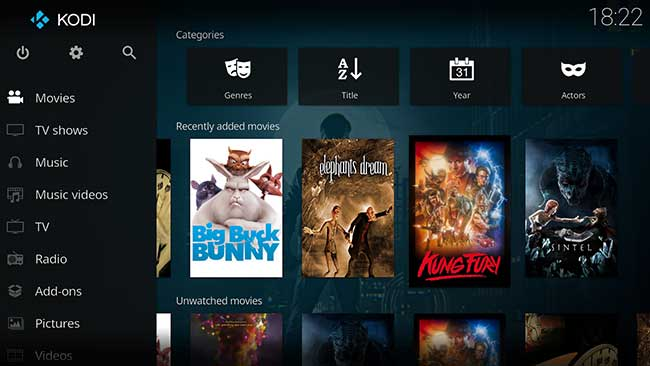 Kodi - android home theater app