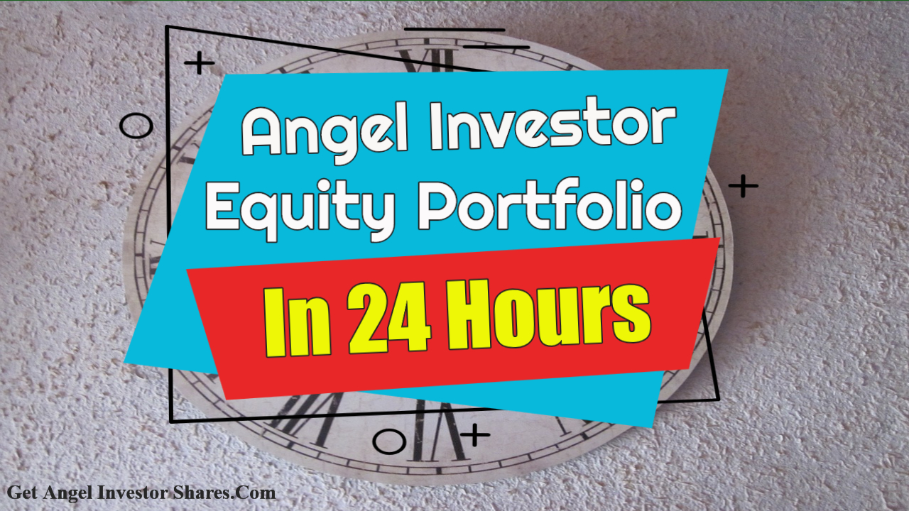 Angel Investor Equity Portfolio In 24 Hours