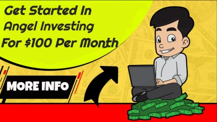 Get Started In Angel Investing For $100 Per Month