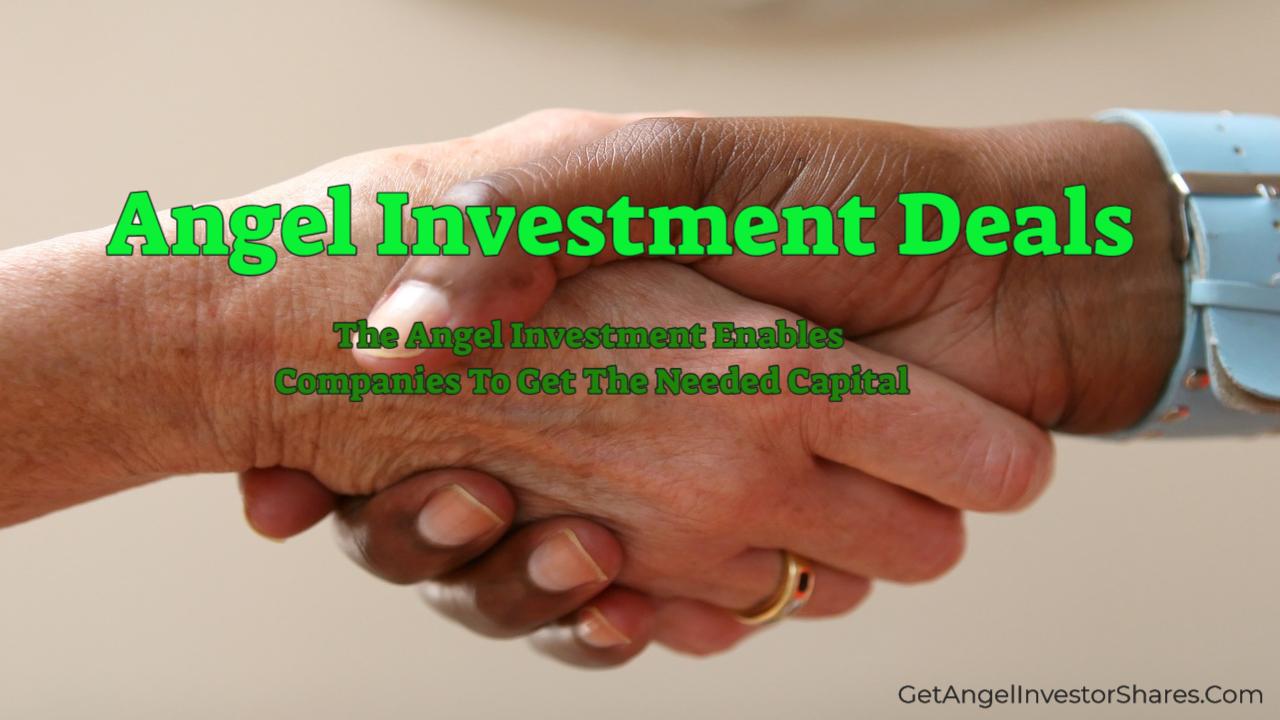 Angel Investment Deals
