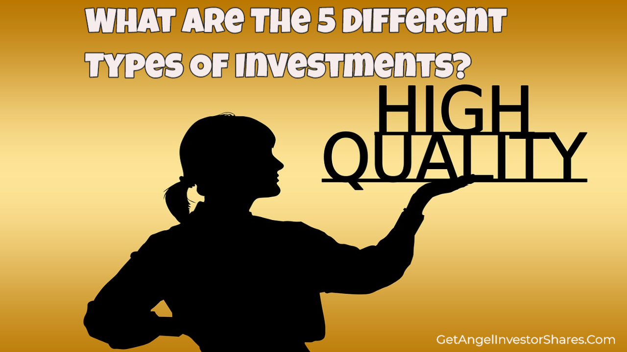 What Are The 5 Different Types Of Investments?